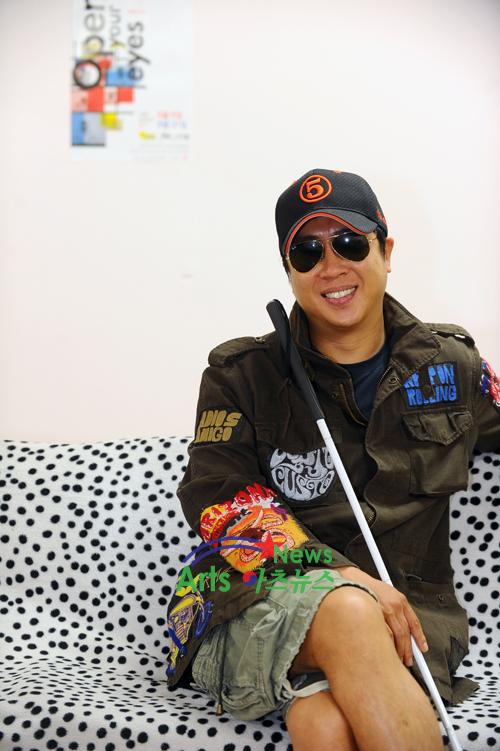 망막색소변성증 이동우, '오픈 유어 아이즈' 연극무대 오른다! [아츠포토]