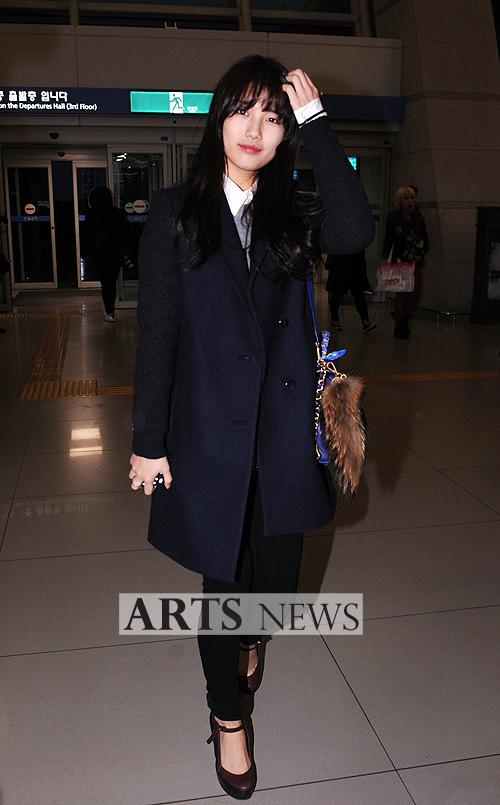 [아츠포토] 미쓰에이 수지 '공항패션 모범생'