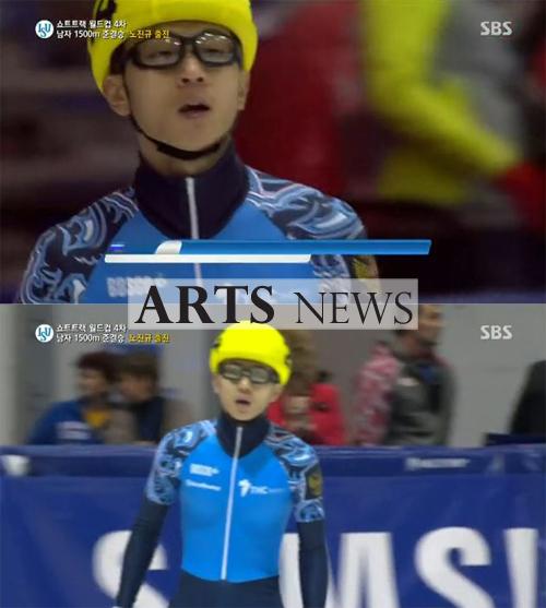 안현수 4관왕 등극, 유럽선수권대회서 '금빛 질주'