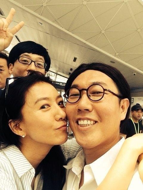 김희애 김영철 셀카, 특급 인연 이은 만남..'폭소'